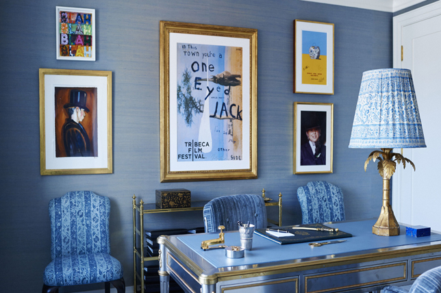 blue-gray best interior color for office