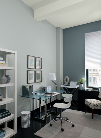 light gray best interior color for office