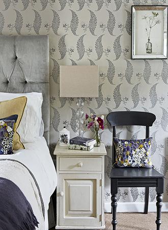 Batik bedroom wallpaper ideas 2019