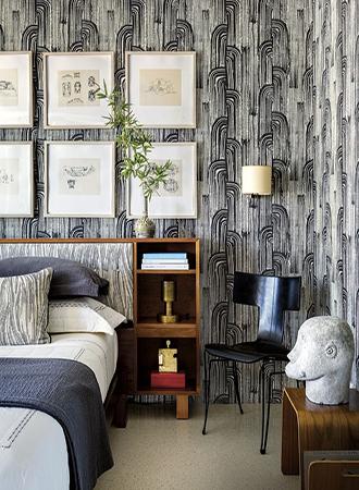 Retro inspired bedroom wallpaper ideas 2019