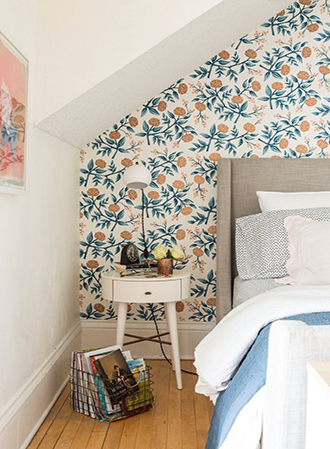Accent wall bedroom wallpaper ideas 2019
