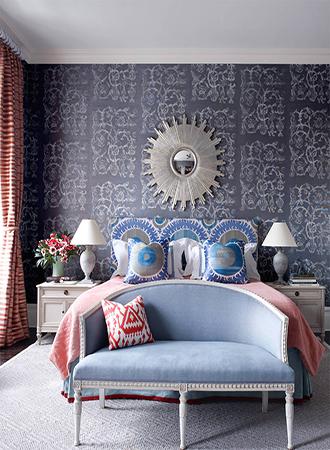 eclectic bedroom wallpaper ideas 2019