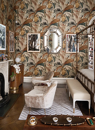 botanical bedroom wallpaper ideas 2019