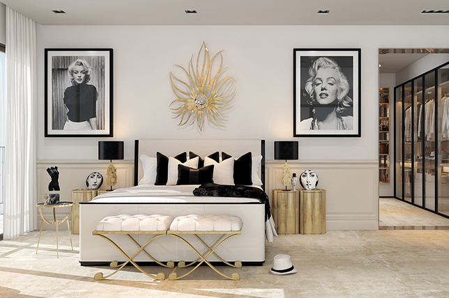 Art Deco Bedroom Makeover Ideas
