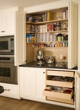 Over the Counter Kitchen Cabinet Pantry Ideas
