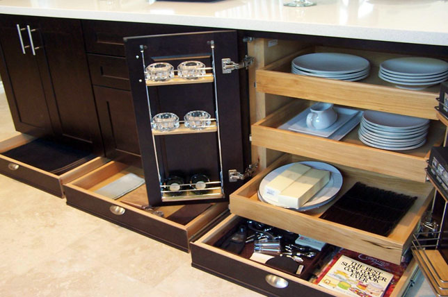 under the counter kitchen cabinet pantry ideas