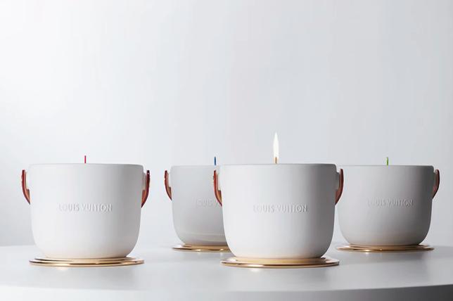 Louis Vuitton candles Valentine's Day gift ideas