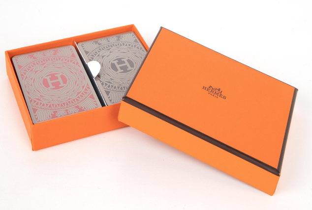 Hermes playing cards Valentine's Day gift ideas