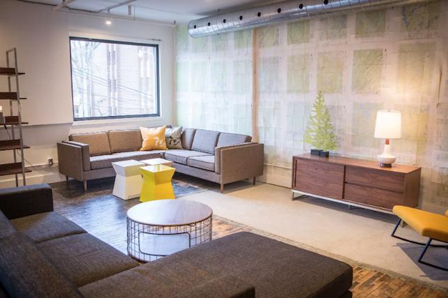 Toronto style garage interior design shops