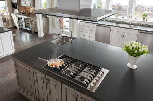 Hob kitchen island