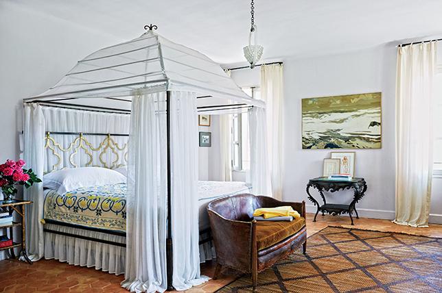 Canopy bed bedroom design 2019