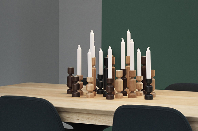 Candles holiday party decor tips