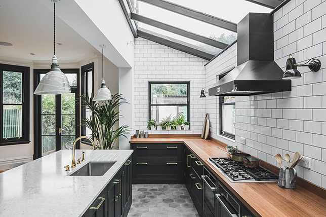 hexagonal kitchen floors ideas 2019