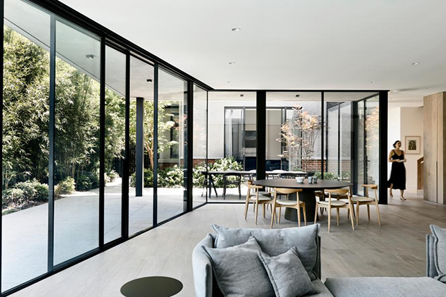 natural materials living room interior design trends 2019