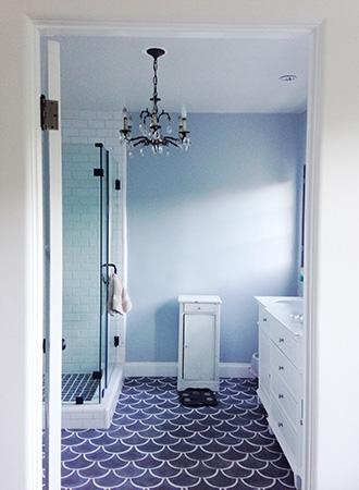 Retro inspired bathroom floor ideas 2019