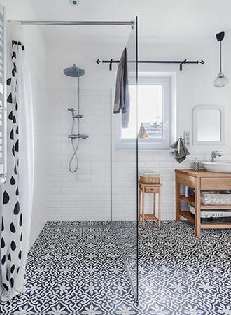 Moroccan inspired bathroom floor ideas 2019