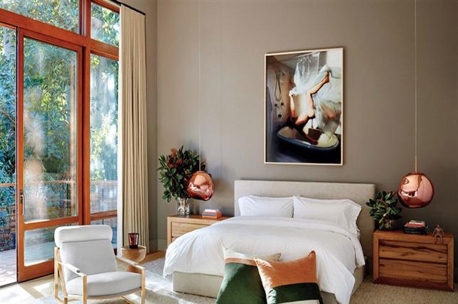 Fall bedroom ideas art