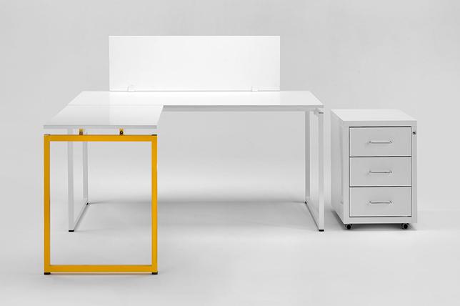 Inspiration for a metal desk