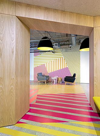 bold office design trends 2019