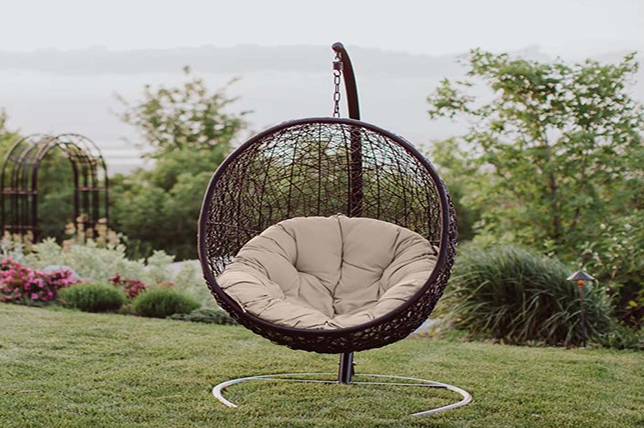 Swing Patio Deck Chair Outdoor Garden Ideas