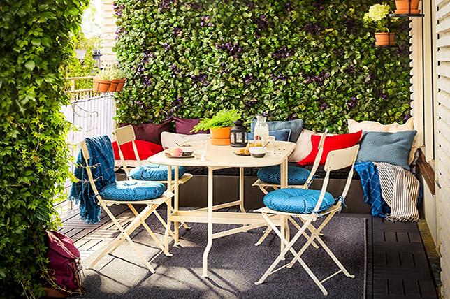 colorful outdoor garden ideas