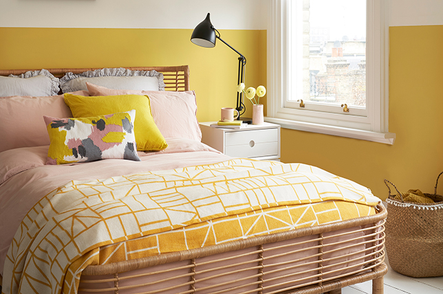 yellow bedroom colors