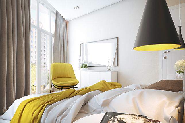 bright bedroom colors