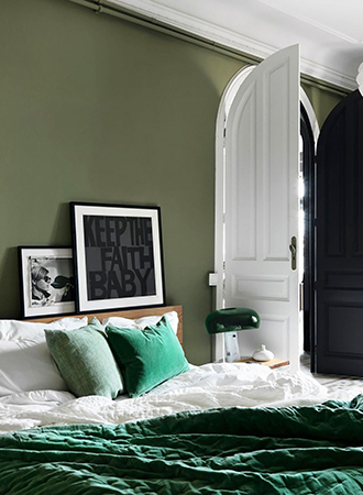 earthy bedroom colors