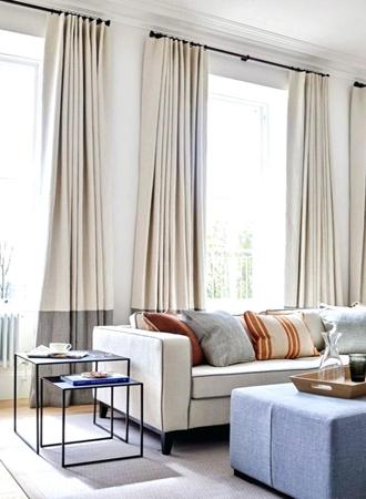 Contrast window treatment ideas 2019