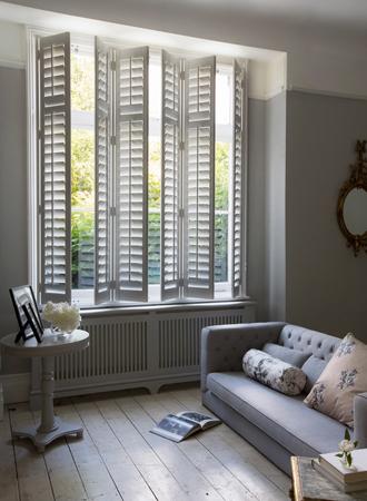 white shutters window treatment ideas 2019