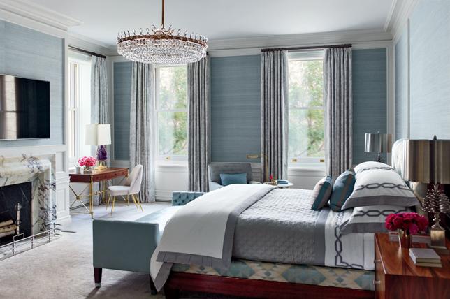 blue window treatment ideas 2019