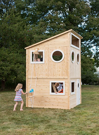 Playhouse backyard ideas