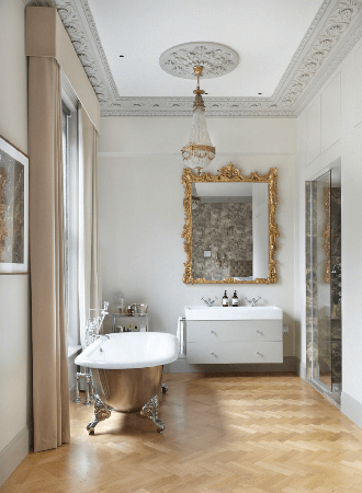 antique gold framed bathroom mirrors 2019
