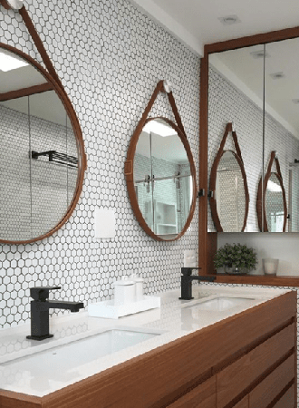 small hanging bathroom mirrors 2019