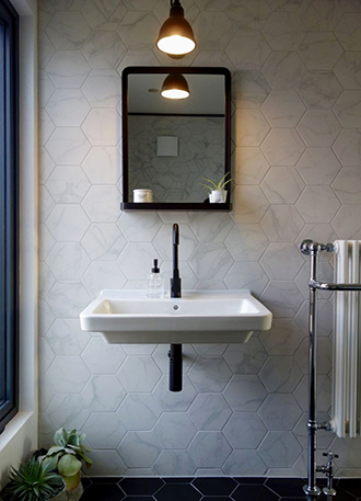 Bathroom mirror 2019 with shelves