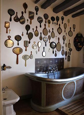 Hand mirror bathroom mirror 2019