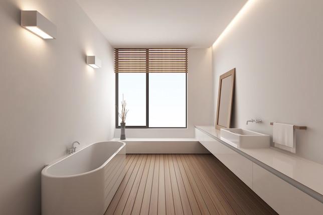heated wooden floor tiles
