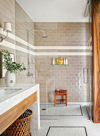 timeless bathroom tiles