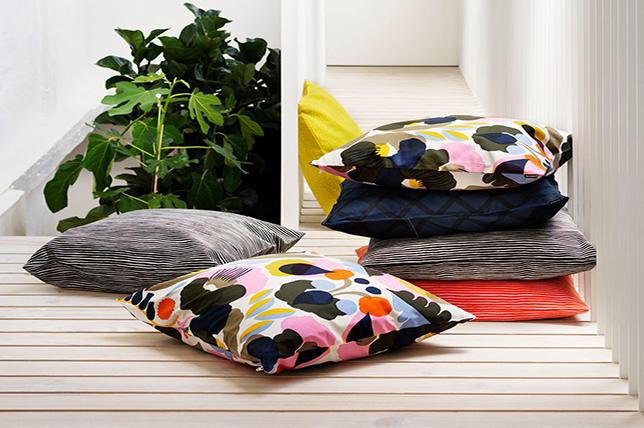 Marimekko decorative pillows
