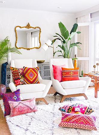 bold decorative pillows 2019