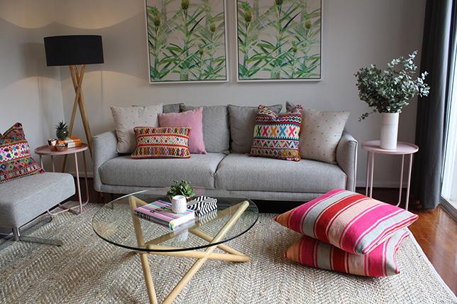 Floor decorative pillows
