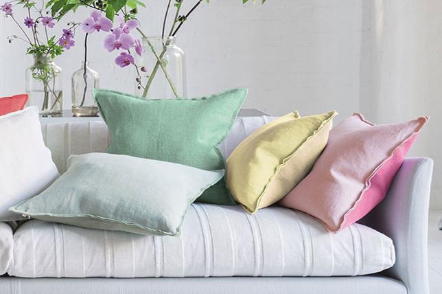 Pastel decorative pillows 2019