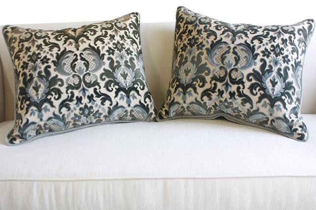flocked decorative pillows 2019