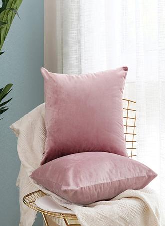 Velvet decorative pillows 2019