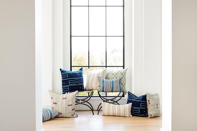striped decorative pillows 2019