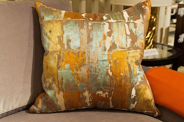 Warercolor decorative pillows 2019