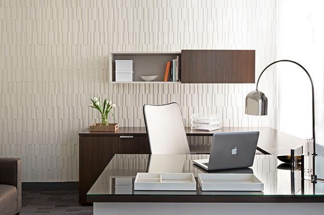 Summer decoration office ideas floating shelves