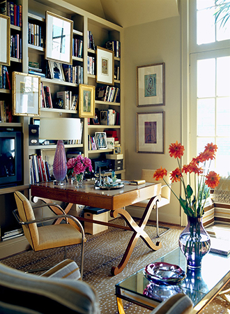 Home office shelving ideas