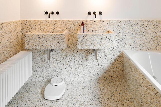 Terrazo bathroom ideas 2019