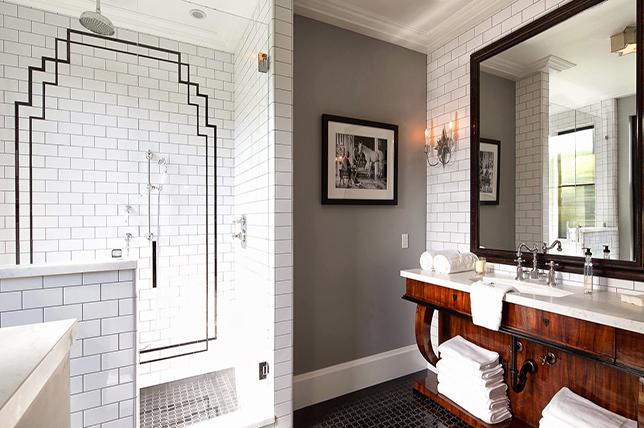 Art Deco inspired bathroom ideas 2019